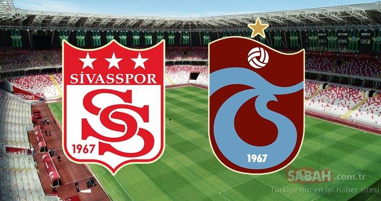 Sivasspor Trabzonspor maçı ne zaman saat kaçta ve hangi kanalda? (Süper Lig 5. hafta)