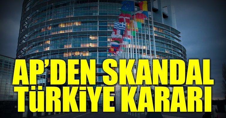 Avrupa Parlamentosu, Türkiye raporunu kabul etti