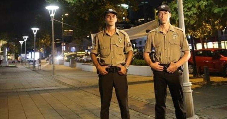 Ankara'da gece bekçileri göreve başladı