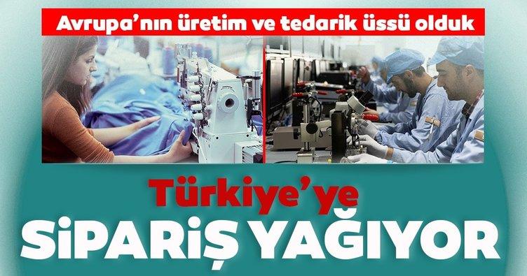Türkiye'ye sipariş yağıyor