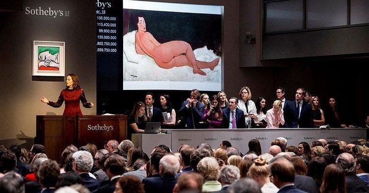 Ünlü tabloya 157 milyon dolar