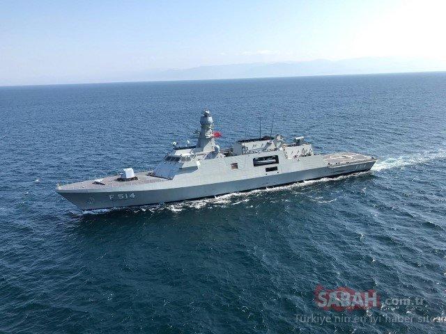 Milli savaş gemisi TCG Kınalıada (F-514) suya indi! İşte Türkiye'nin yeni milli savaş gemisi...