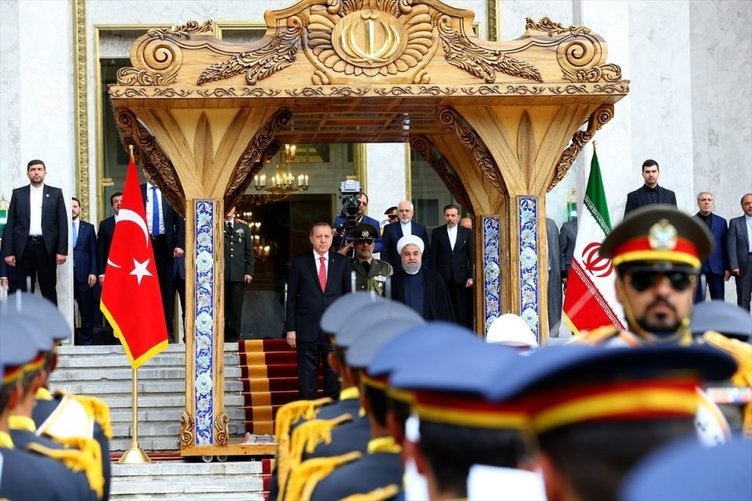Cumhurbaşkanı Erdoğan İran'da