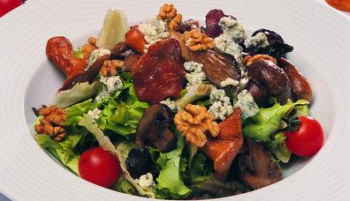 Cevizli, Rokfor Peynirli Mantar Salatası