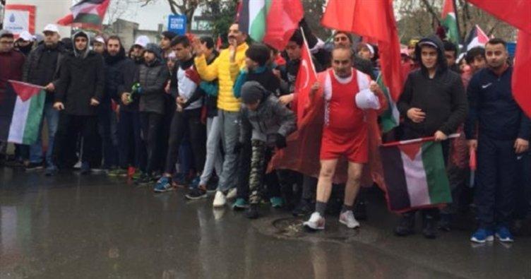 İstanbul Kudüs için koşuyor