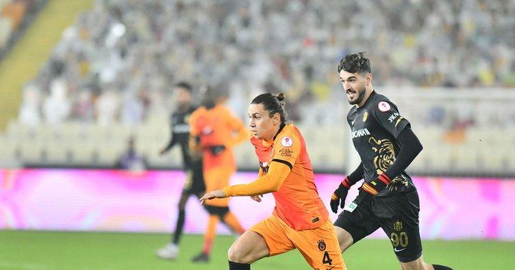 Son dakika: Galatasaray 3 puanı tek golle aldı!