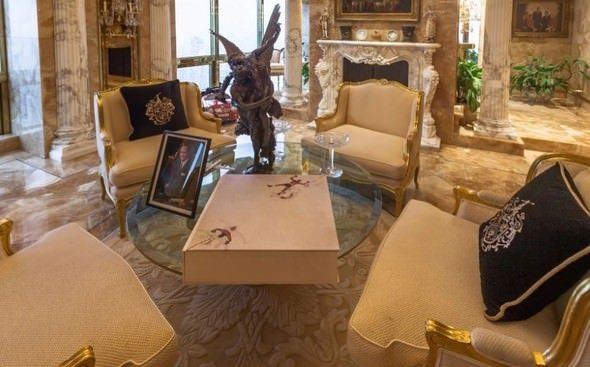Trump'ın evi dudak uçuklatıyor