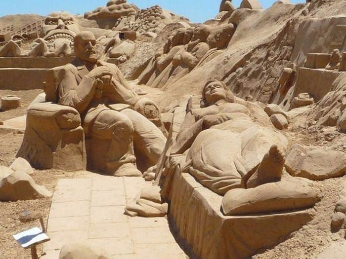 Dünyanın en güzel kum çalışmaları
