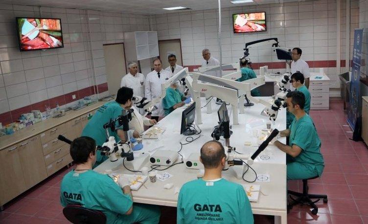 GATA tüm dünyaya mikrocerrahi uzmanları yetiştiriyor