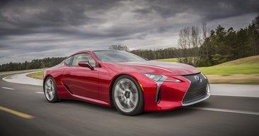 Lexus LC'nin fiyatı belli oldu