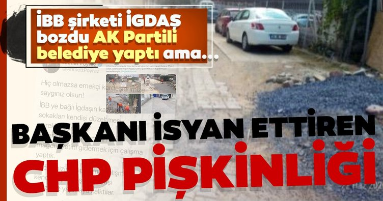 CHP pişkinliği Belediye Başkanı'nı isyan ettirdi.