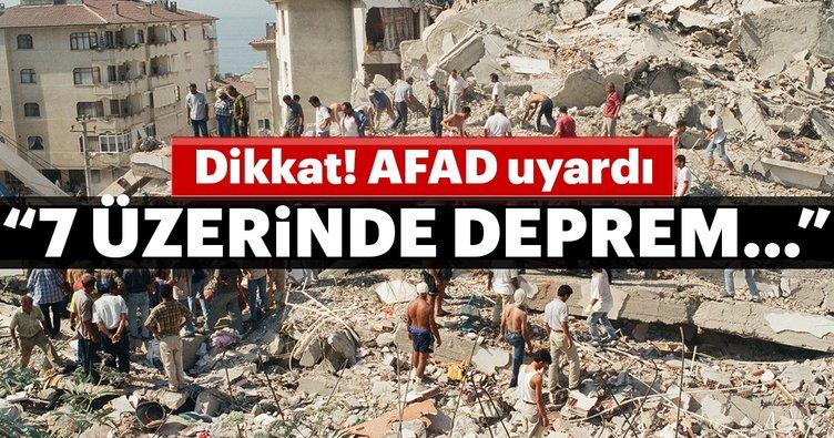 AFAD İl Müdürü: Çankırı'da 7 üzerinde deprem olma olasılığı çok yüksek