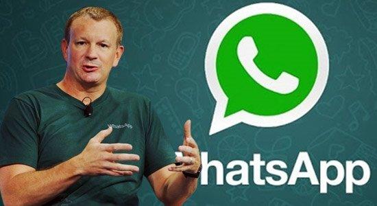 WhatsApp kurucusundan yeni uygulama
