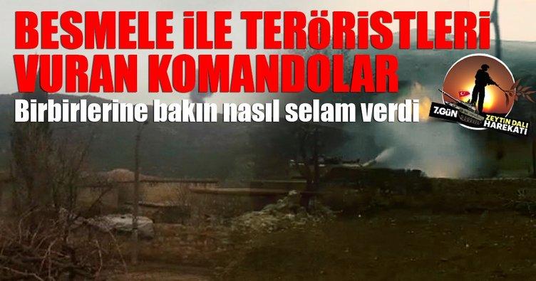 Mehmetçik besmele çekerek tank ve uçaklar ile terör hedeflerini vurdu