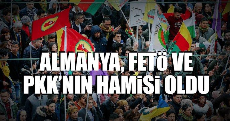 Almanya, FETÖ ve PKK'nın hamisi oldu