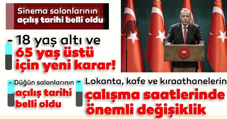 Son dakika haberleri... Başkan Erdoğan yeni normalleşme planını açıkladı! İşte alınan yeni kararlar