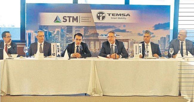 TEMSA hedefini STM ile büyütüyor