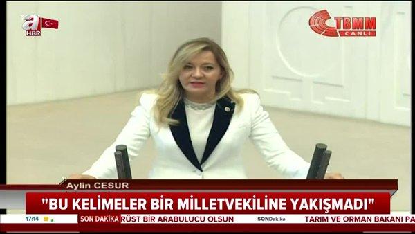 Son Dakika: İyi Parti Milletvekili Aylin Cesur'un skandal hakaretlerine tepkiler büyüyor | Video