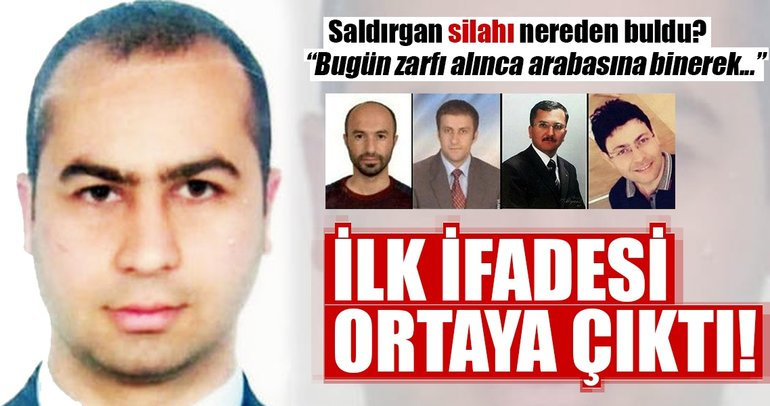 Son Dakika: Eskişehir Osmangazi Üniversitesi saldırganının ilk ifadesi ortaya çıktı!
