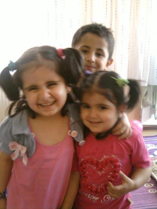 Öldürülen çocuklardan bu görüntüler kaldı