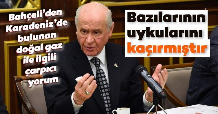 Son dakika haberi: MHP Lideri Devlet Bahçeli'den flaş doğal gaz açıklaması