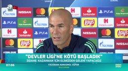 Galatasaray - Real Madrid maçı öncesi Zidane ve Ramos'tan iddialı flaş açıklamalar!