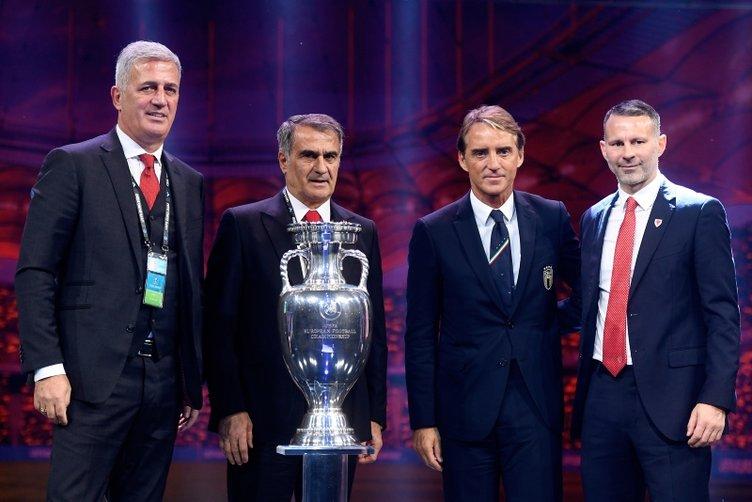 EURO 2020: Şenol Güneş ve rakip takım teknik teknik direktörler kurayı yorumladılar
