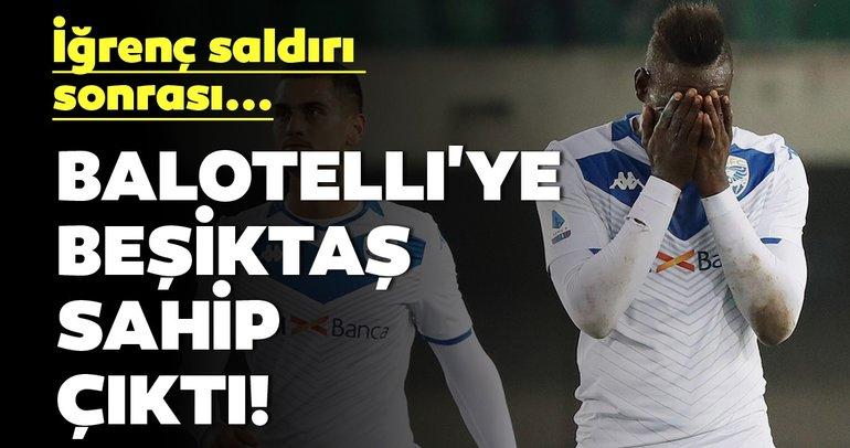 Mario Balotelli'ye Beşiktaşlılar sahip çıktı!