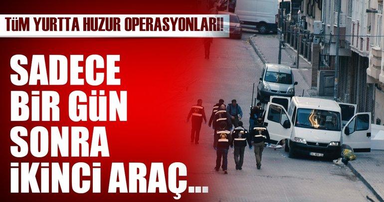 İstanbul'da ikinci bombalı araç yakalandığı ortaya çıktı