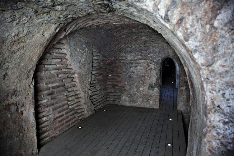 İstanbul'da bir yeraltı şehri