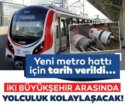 İstanbul-Kocaeli arası yolculuk kolaylaşıyor! Yeni metro hattı için tarih belli oldu