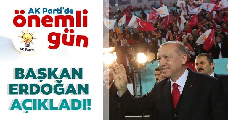 Başkan Erdoğan açıkladı! AK Parti Samsun İlçe Adayları belli oldu!