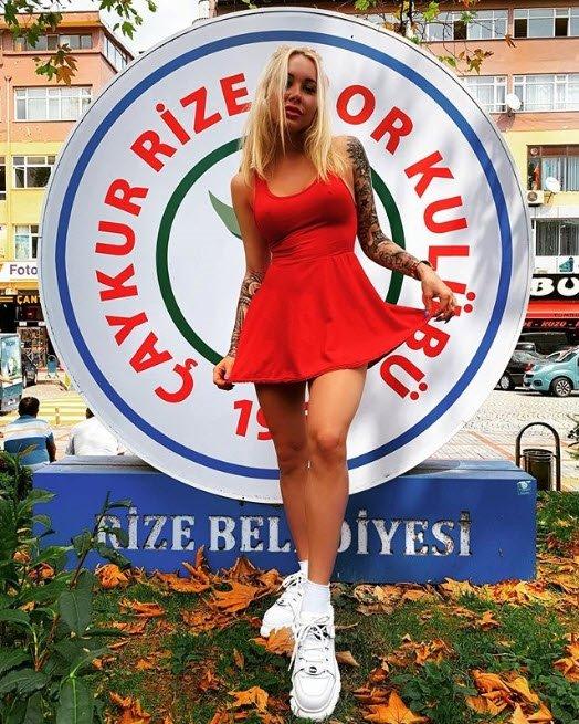 Çaykur Rizesporlu Mykola Moroziuk'un eşi İrina Moroziuk, kulüp başkanı oldu