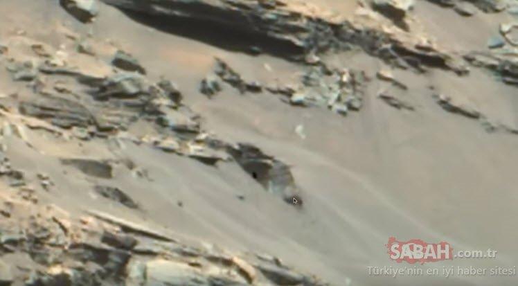 NASA'dan skandal Mars paylaşımı! Farkında olmadan yayınlandı! Kızıl gezegendeki keşif ortaya çıktı