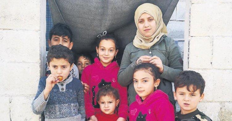 Suriyeli çocuklar hayaline kavuştu