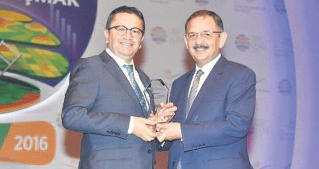 Altındağ'a 'Örnek Belediye' ödülü