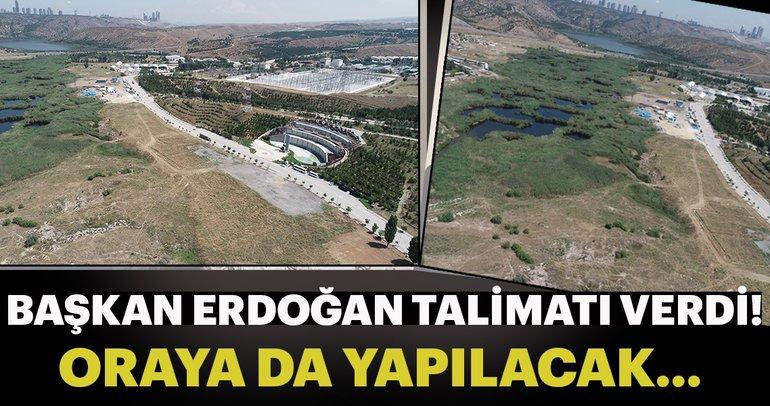 Başkan Erdoğan talimatı verdi… Oraya da yapılacak… Ankaralılar müjde…