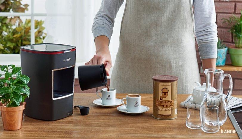 Türk kahvesi hazırlanışı