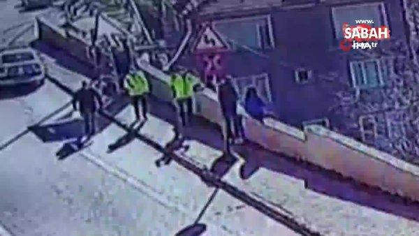 Kahraman yüzbaşı intihar etmek isteyen kızı böyle kurtardı | Video