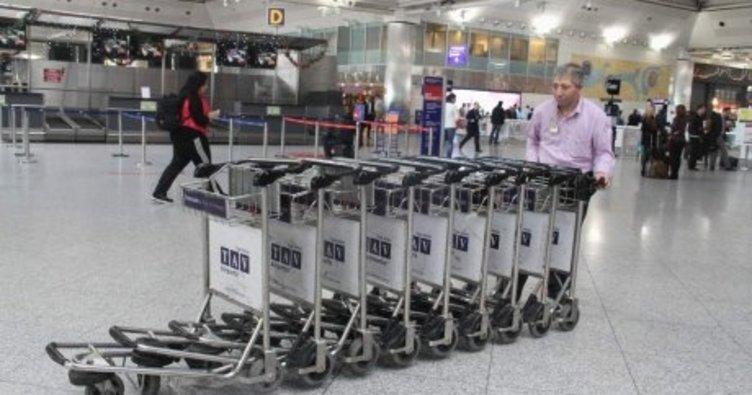 Bagaj taşıyıcılarının 2019 ücret tarifesi belli oldu!
