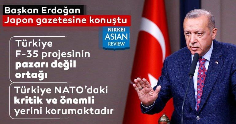 Cumhurbaşkanı Erdoğan'dan Japonya'da çok net F-35 mesajı!