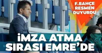 Son dakika: Emre Belözoğlu Fenerbahçe'ye imza atıyor