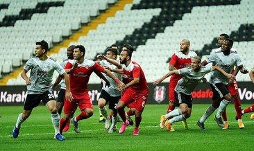 Beşiktaş sahasında puan bıraktı!