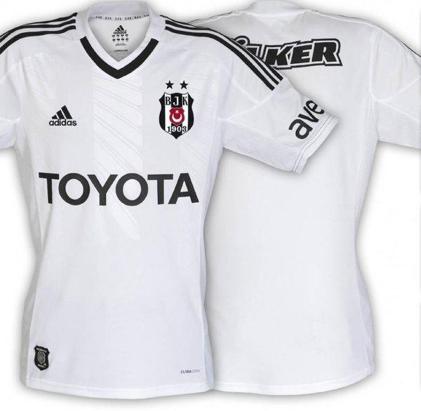 İşte Beşiktaş'ın beyaz forması