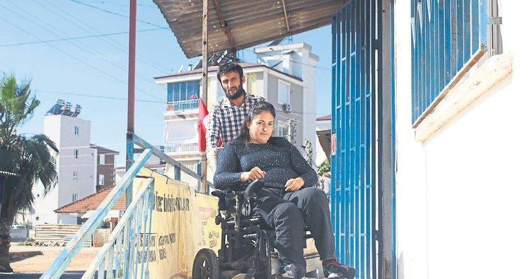 Engelli çiftin dramı
