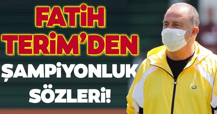 Fatih Terim'den şampiyonluk sözleri!