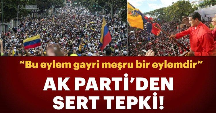 AK Parti Sözcüsü Çelik: Hiçbir ülke Venezuela'ya devlet başkanı atayamaz