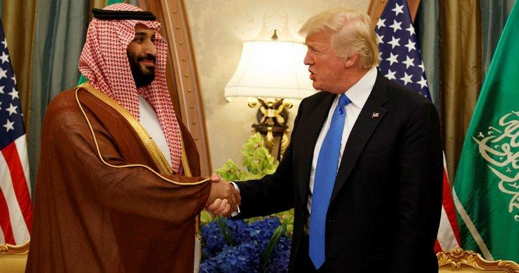 ABD ile Suudi Arabistan arasında 280 milyar dolarlık anlaşma