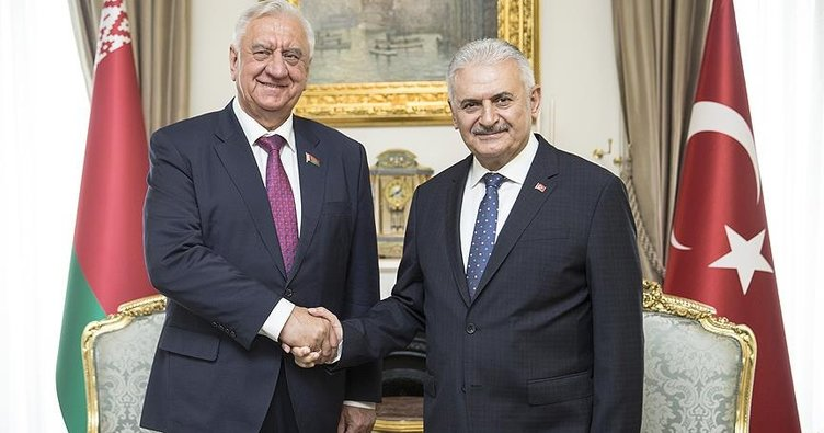 Başbakan Binali Yıldırım, Miyasnikoviç ile görüştü