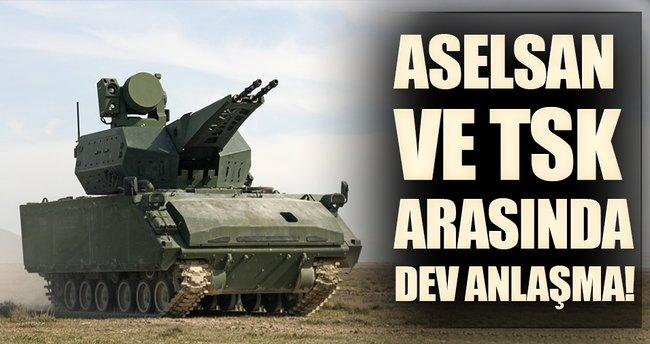 Aselsan ile TSK elektronik harp anlaşması imzalandı